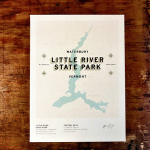 Vermont Parks Collection Print Series (all 7 Fall 2019 releases)