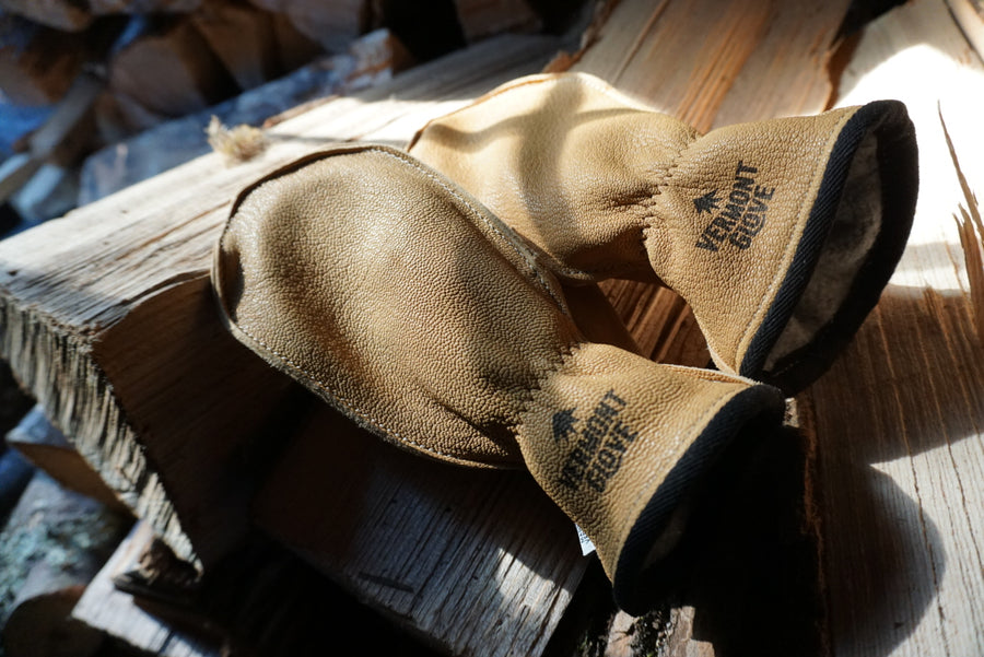 The Chopper Lined Goatskin Mitts