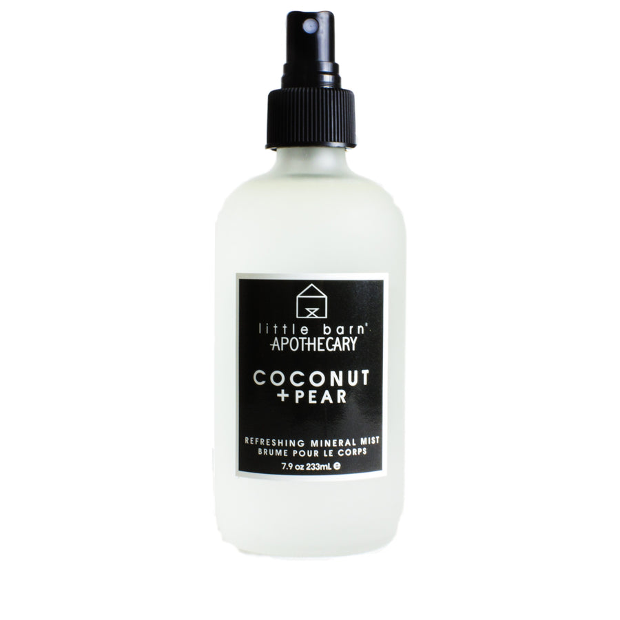 Coconut + Pear Refreshing Mineral Body Mist