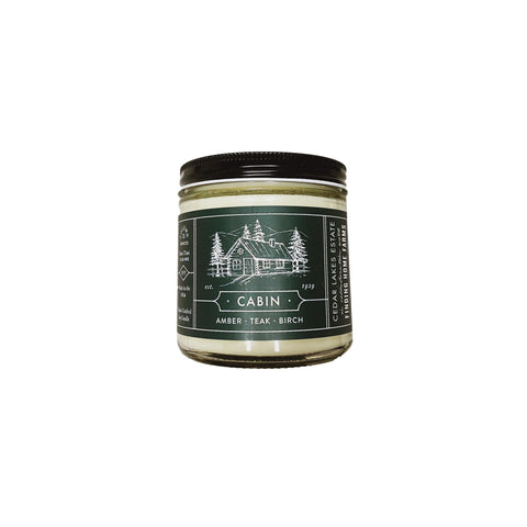 Cabin Soy Candle 13oz
