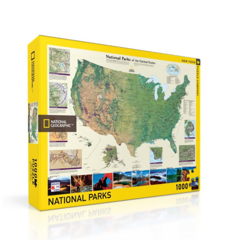 American National Parks 1000 Jigsaw Puzzle