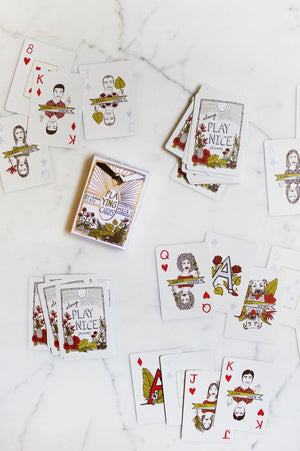 Always Play Nice (please) Playing Cards