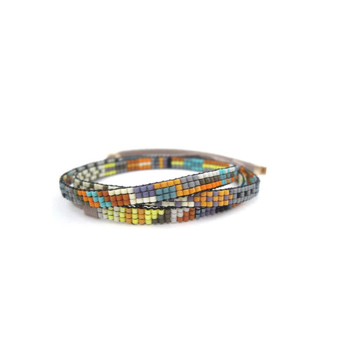 Hilo Beaded Necklace/Wrap Bracelet