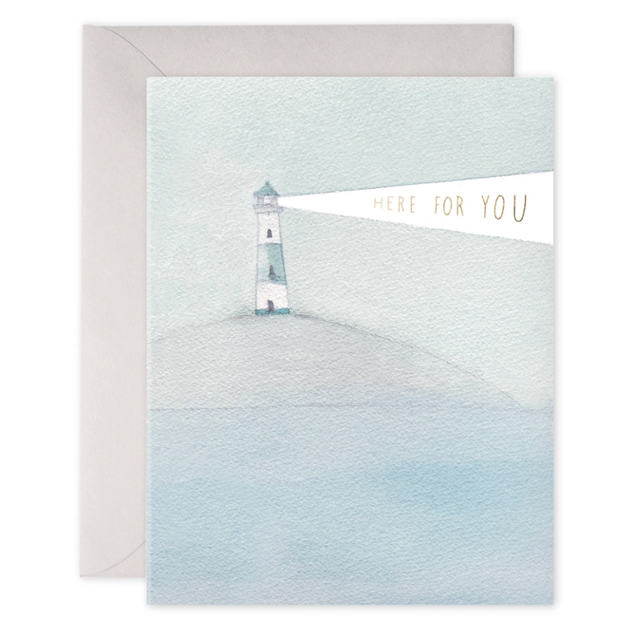 Lighthouse Beacon Here For You Card