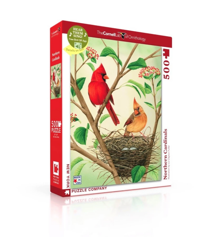 Northern Cardinals Puzzle - 500 Piece