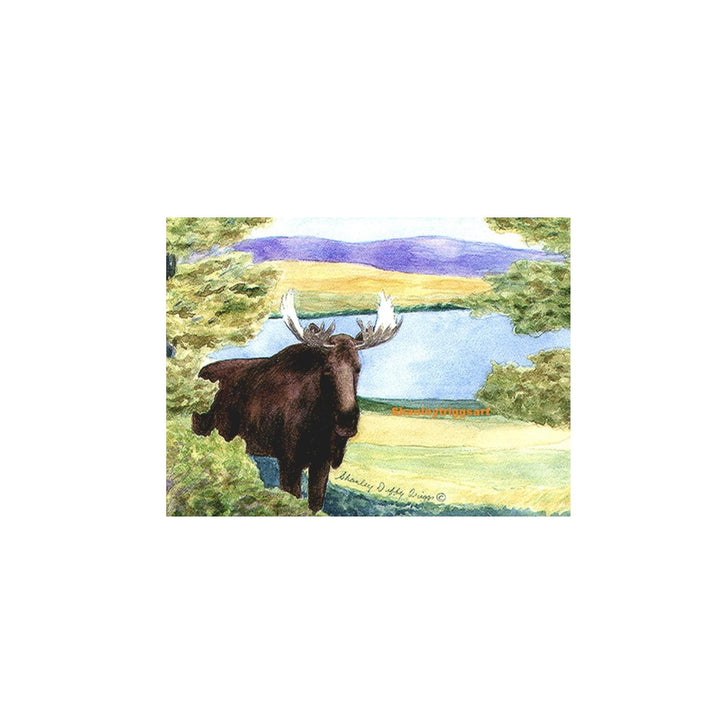 Tiny Framed 4x4 Print - Moose of Vermont