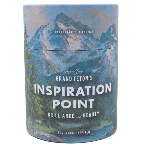Grand Teton's Inspiration Point Candle 11 oz