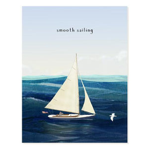 Sail Away Smooth Sailing Card - FD2
