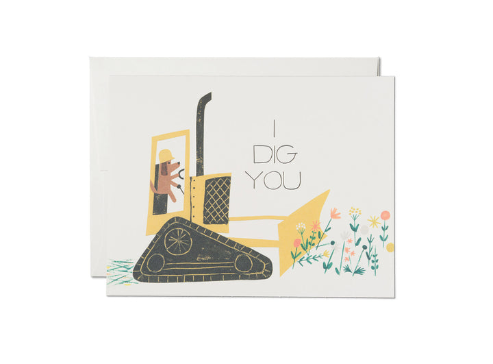 I Dig You Dog Love Card - RC1
