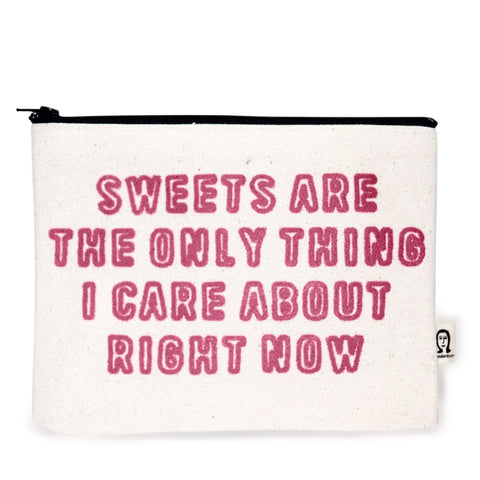 Sweets Canvas Pouch