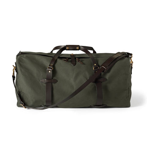 Filson Large Rugged Twill Duffle Bag Otter Green