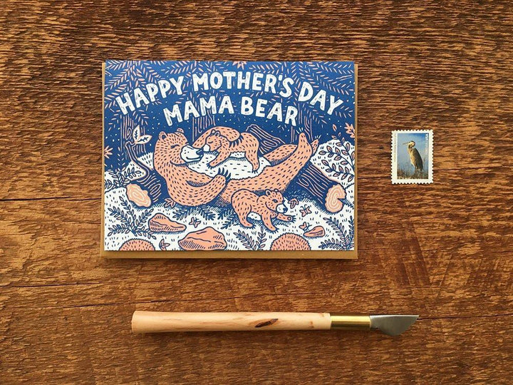 Mother's Day Mama Bear Card - NW7