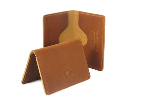 Leather Bi-fold Card Case