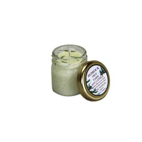 Mini Mason Balsam Fir Needle Candle