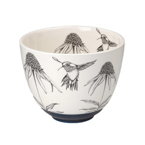 Laura Zindel Medium Bowl - Hummingbird