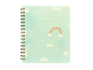 Lined Notebook Rainbows