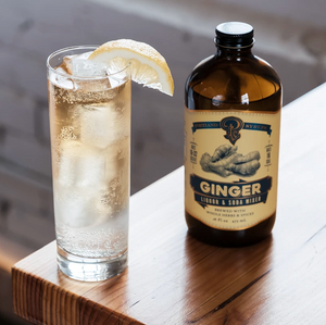 Authentic Ginger Cocktail Syrup 16oz