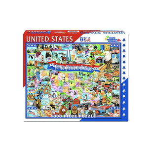 United States of America 1000 Piece Puzzle