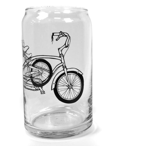 16 oz. Printed Can-Shaped Pint Glass
