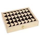 Travel Backgammon Set - Jett Black
