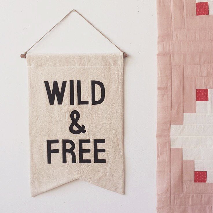 Wild and Free Banner