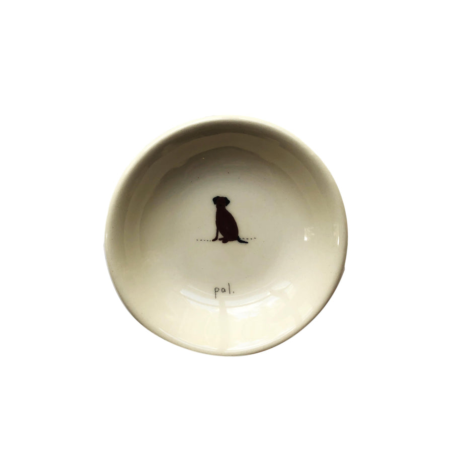 """Pal"" Dog Ceramic Bowl"