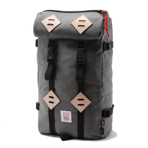 Topo Designs Klettersack 22L in Charcoal