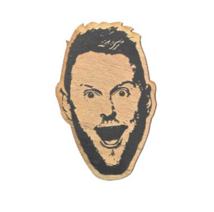 Famous Face Ornament - Bobby Berk