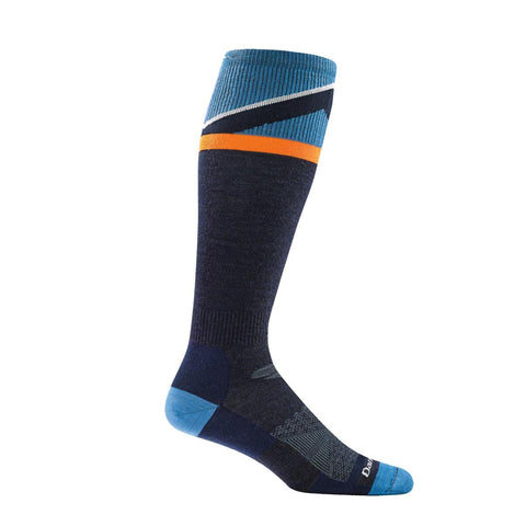 Darn Tough Vermont Mountain Top Cushion Ski/Ride Socks - Navy