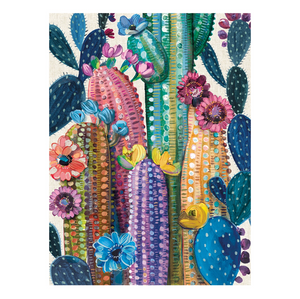 Desert Bloom Cactus Flower Puzzle - 1000 Piece