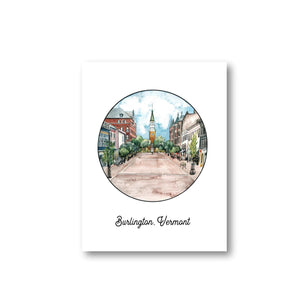 Burlington Circle Art Print - 11 x 14
