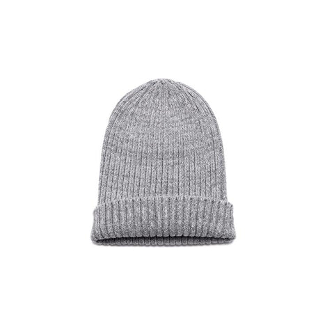Deluxe Cotton Beanie - Grey