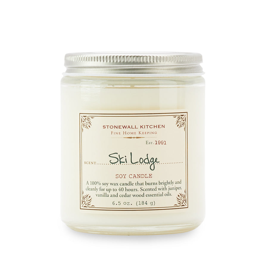 Ski Lodge Candle