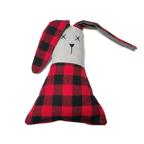 Hunk of Junk Bunny - Buffalo Check