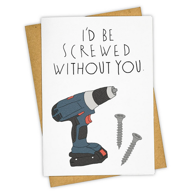 Screwed Without You Card - TH1