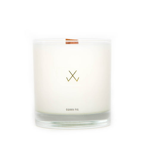 Simply Curated Glass Candle