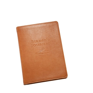 Birder's Journal - British Tan Traditional Leather