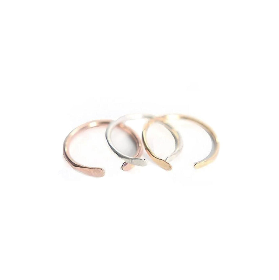 Open Adjustable Stacking Ring