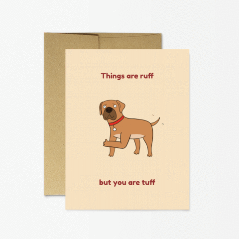 Ruff Tuff Card - PM3