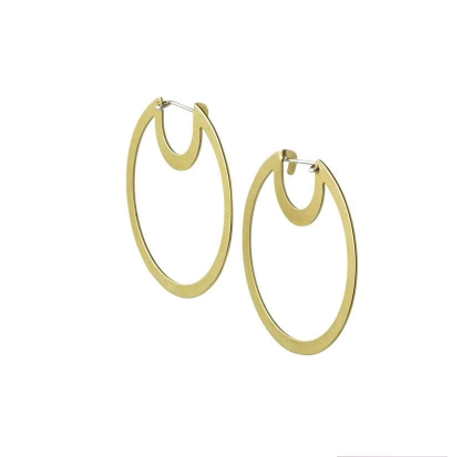 Bombana Hoop Earrings Small