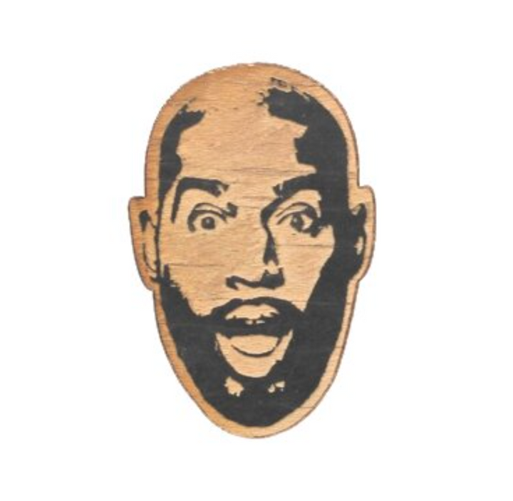 Famous Face Ornament - Karamo Brown