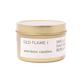Old Flame Candle