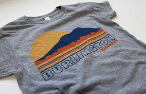 Burlington Vermont Kids T-Shirt
