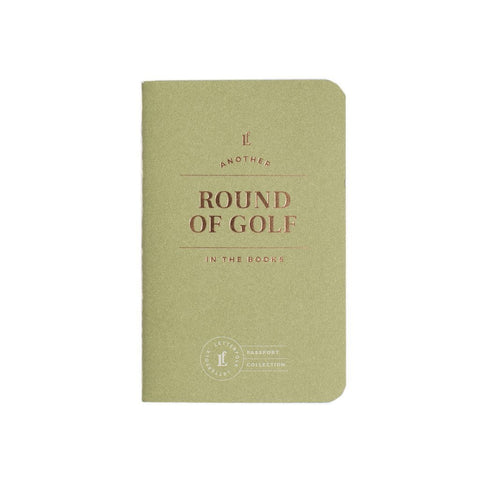 Round of Golf Passport Book