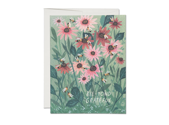 Bee-yond Grateful Thank You Card - RC1