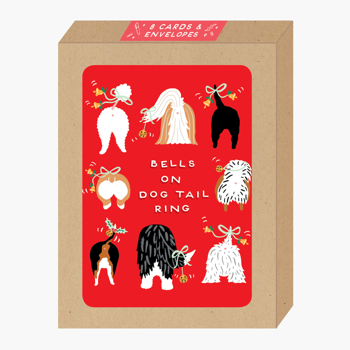 Dog Tails Holiday Box Set of Cards