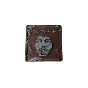 Jimi Hendrix Glass Coaster