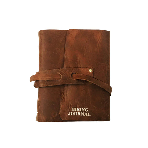 Handbound Leather Hiking Jorunal