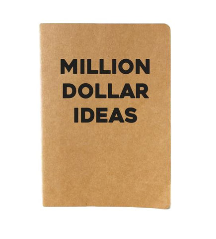 Million Dollar Ideas Journal