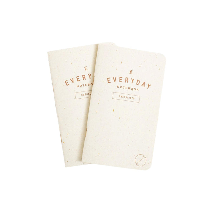 Everyday Checklists Notebooks - 2-Pack